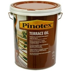 Масло для террасы PINOTEX TERRACE OIL = 4,5L